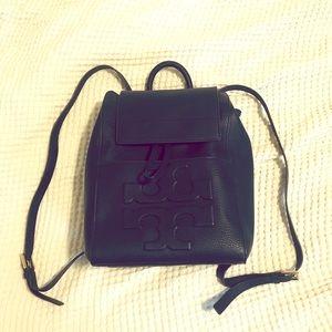 Tory Burch Navy Blue Rucksack Backpack